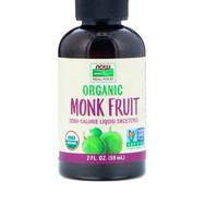 Now real food édulcorant gouttes de fruit des moines bio
