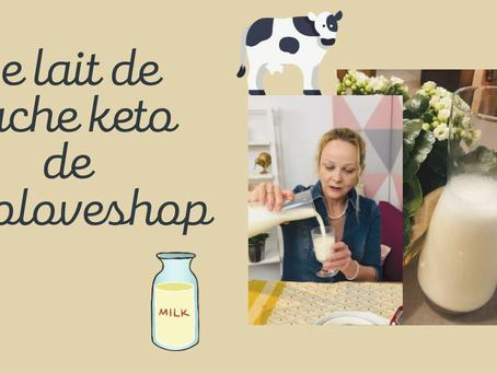 Le lait de vache Keto de Ketoloveshop
