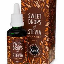 Gouttes Stevia Goodgood: Caramel, vanille, nature, chocolat, coco, canelle
