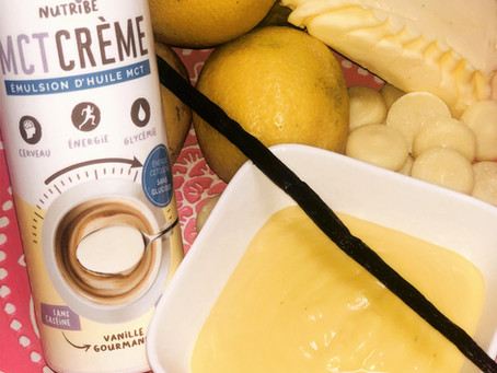 Pâte à tartiner citron vanillé et chocolat blanc