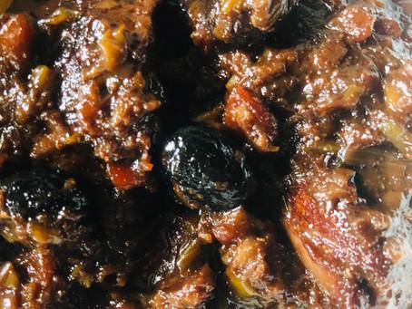 ragoût de Bœuf kombucha Olives