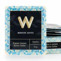 Café gras vanille ou nature Warrior Coffee