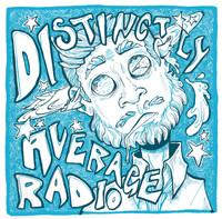 Disctinctly Average Radio Logo, 2020