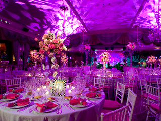 Lighting for your Perfect Wedding day!