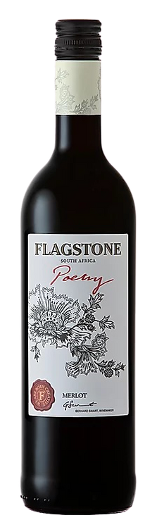 1 x Case (6 bottles) of Flagstone Poetry Merlot
