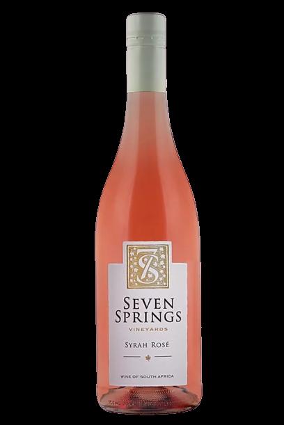 1 x Case (6 bottles) of Seven Springs Syrah Rosé