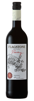 1 x Case (6 bottles) of Flagstone Poetry Pinotage