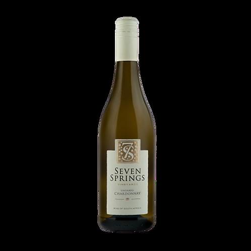 1 x Case (6 bottles) of Seven Springs Unoaked Chardonnay