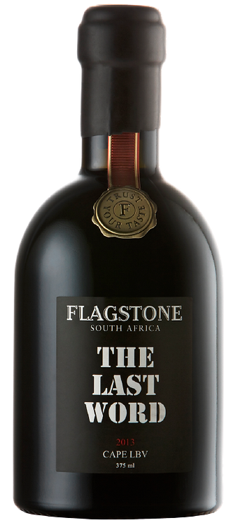 "1 x Bottle (375 ml) of Flagstone ""The Last Word"" Port"