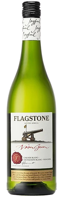 1 x Case (6 bottles) of Flagstone Noon Gun Dry White Blend