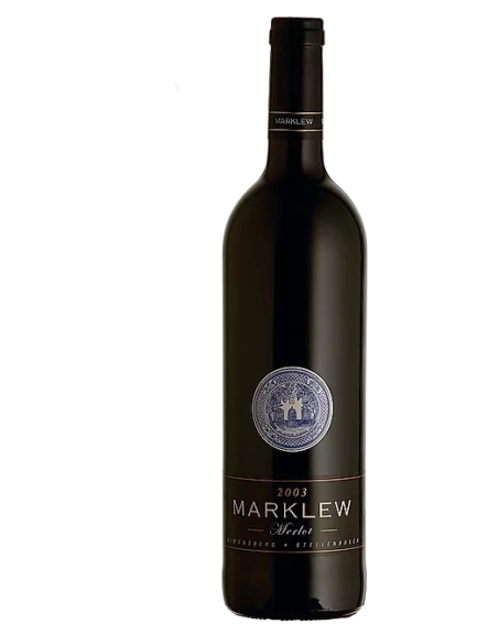 1 x Case (6 bottles) of Marklew Merlot