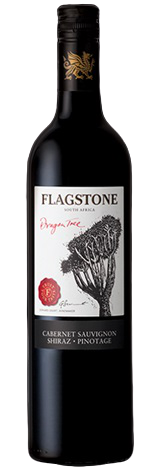 1 x Case (6 bottles) of Flagstone Dragon Tree cape Blend