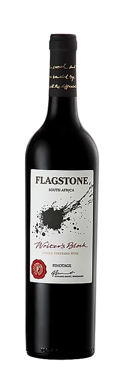 1 x Case (6 bottles) of Flagstone Writers Block Pinotage