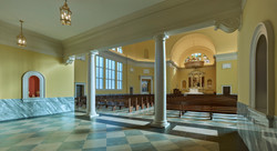 Interior View from Narthex