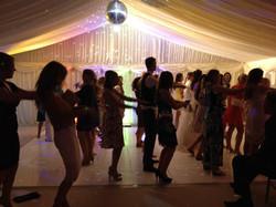 Dancing to the Macarena