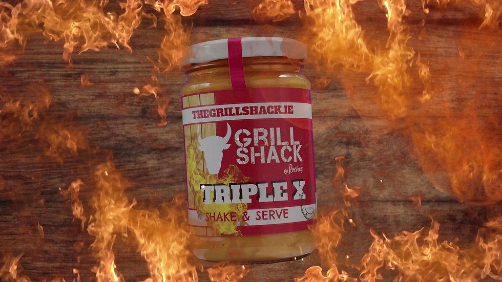 THE GRILLSHACK ORIDINAL HOTSAUCE 4 PACK