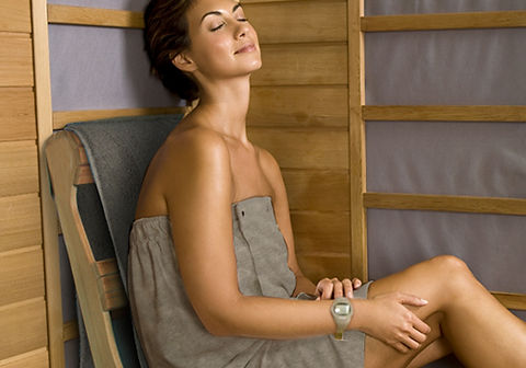 Infrared sauna for weight loss, fat burning and detoxification