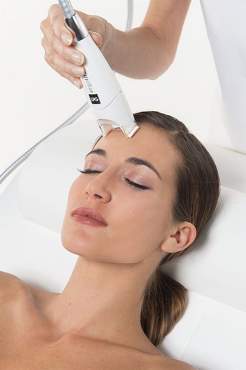 Endermologie face to lift and firm and reduce lines and wrinkles
