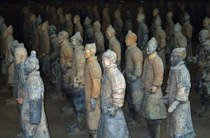 Terra Cotta Soldiers