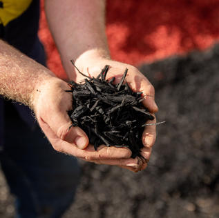 Midnight Black Mulch