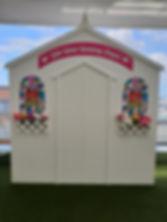Custom built wedding chapel