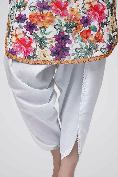 Cotton Tulip Shalwar by Image