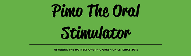 Pimo the oral stimulator header for the reviews page on website.