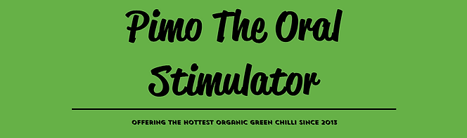 Pimo the oral stimulator header for contact us website page.