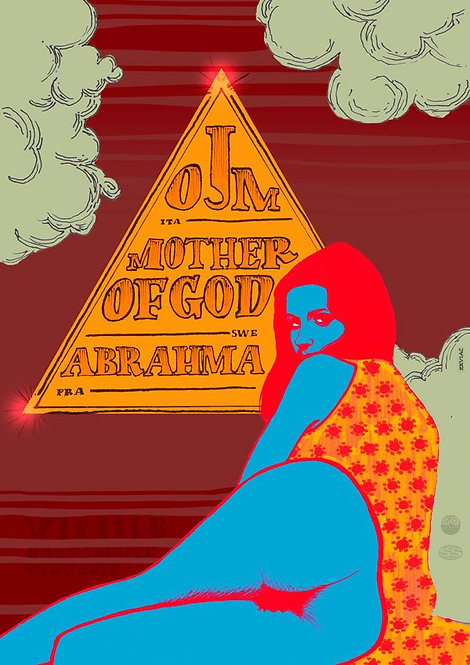 VINILE CLUB OJM+MOTHER OF GOD + ABRAHMA