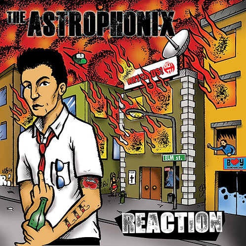 THE ASTROPHONIX - Reaction