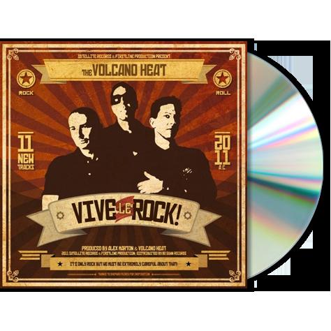 VOLCANO HEAT - Vive Le Rock