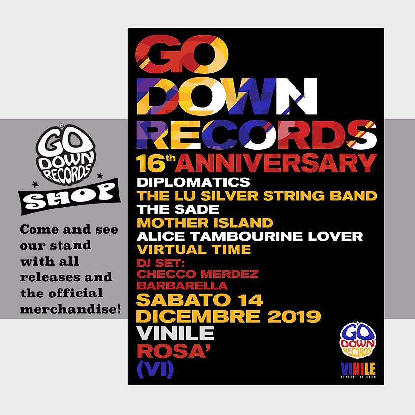 Go Down Records 16th Anniversary