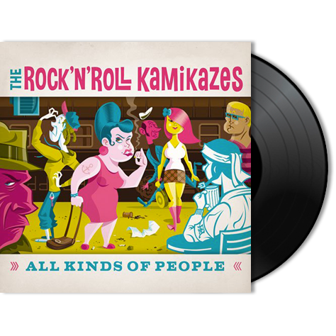 THE ROCK'N'ROLL KAMIKAZES - All Kinds Of People