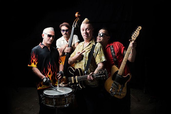 The Rock'n'Roll Kamikazes band
