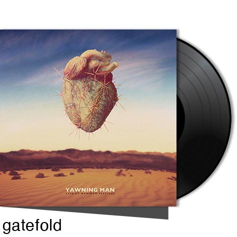 YAWNING MAN - Live At Maximum Festival   2021 reissue