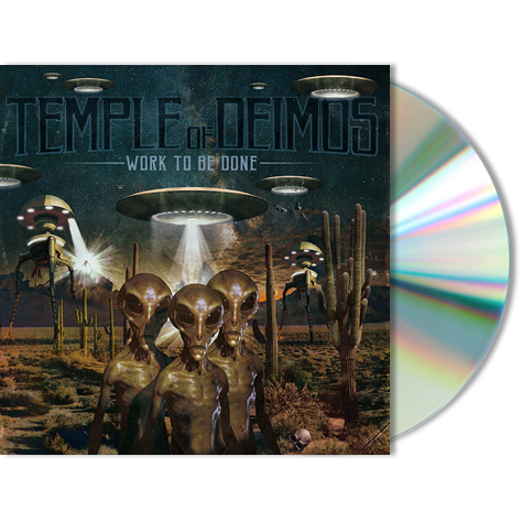 TEMPLE OF DEIMOS - Work To Be Done