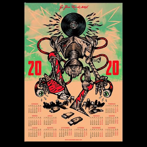 2020Year Calendar