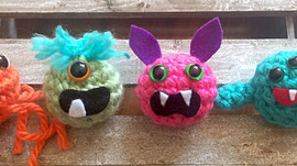 Learn to crochet with Hook A Monster
