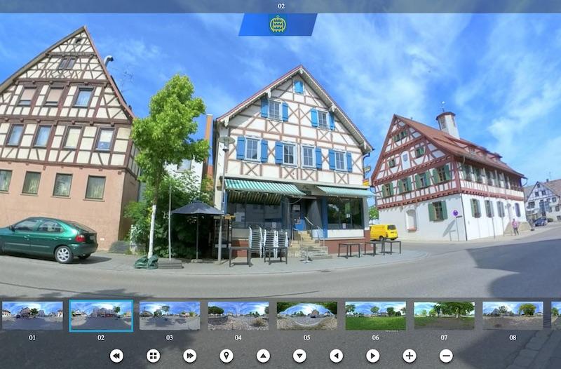 Tourismus - Virtueller Stadtrundgang