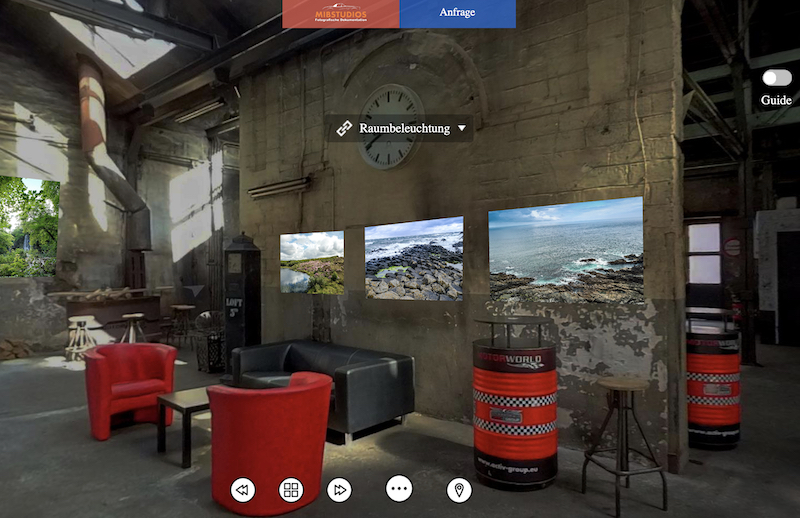 Virtuelle Foto-Ausstellung