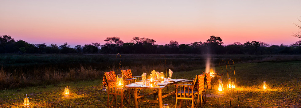 Evening meal Nanzhila Plains