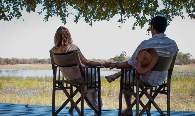 Nanzhila Plains - Deck overlooking the plains
