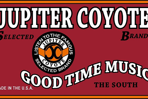 Jupiter Coyote Good Time Music Tee