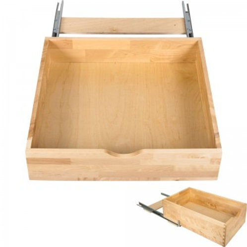 Roll Out Shelves -Dovetailed Maple Hardwood