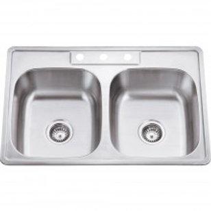 20 Gauge Stainless Steel Drop In Sink