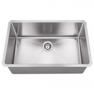Stainless Steel (16 Gauge) Kitchen Sink 30x19