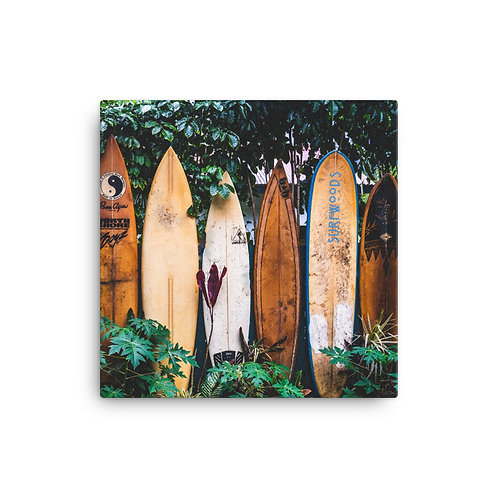 Old board collection on Canvas