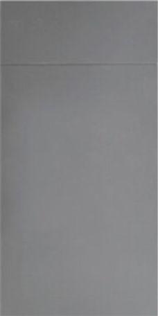 Glossy Ash Gray Slab