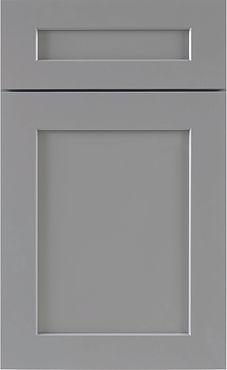 Gray Shaker Cabinet