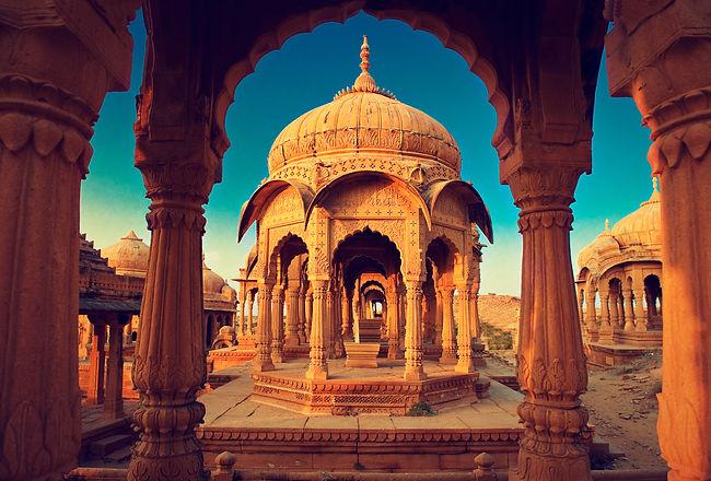 India Leg - Bada Bagh cenotaph Intro ima